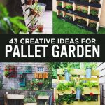 Amazing Creative Wood Pallet Garden Project 13