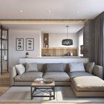 One room apartment layout design ideas 43