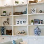 Brilliant Built In Shelves Ideas for Living Room 49